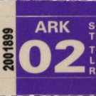 Arkansas: ST Trailer Plate Year Sticker (2002)
