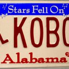 "2004 Alabama Disabled ""Wheelchair"" License Plate (K0B04)"