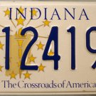 1999 Indiana Disabled Wheelchair License Plate (124197)