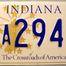 1999 Indiana License Plate (8A2941)