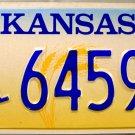 1998 Kansas Disabled Wheelchair License Plate (64596)