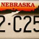 1999 Nebraska License Plate (72-C253)