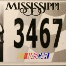 2004 Mississippi License Plate: NASCAR #8 Dale Earnhardt Jr. (3467)
