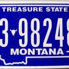 2010 Montana License Plate (3-98248B)