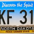 2006 North Dakota License Plate (HKF 319)