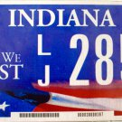 2010 Indiana In God We Trust License Plate (LJ 2854)