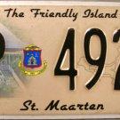 2010 St. Maarten License Plate (P4928)