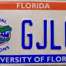 2006 Florida: University of Florida License Plate (GJLOP)
