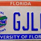 2006 Florida: University of Florida License Plate (GJLOP)