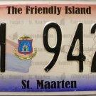 2011 St. Maarten License Plate (M 9428)