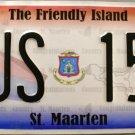 2011 St. Maarten Bus License Plate ( BUS 157)