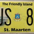 2012-2013 St. Maarten Bus License Plate (BUS 81)