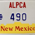 1987 Albuquerque, New Mexico ALPCA 33rd Convention License Plate (490)