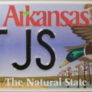 2014 Arkansas Game and Fish Mallard License Plate (GG TJS)