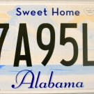 2013 Alabama License Plate (57A95L9)