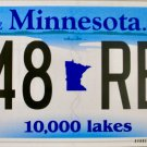 2016 Minnesota License Plate (648 REL)