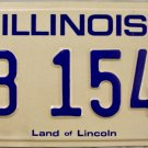 1980 Illinois License Plate (KB 1545)