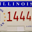 Illinois Veteran License Plate (14448 US)