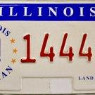 Illinois Veteran License Plate (14448 US)