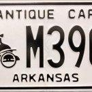 Arkansas Antique Car License Plate (M3906)