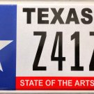 Texas State of the Arts License Plate (Z41ZS)