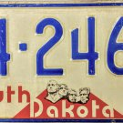 1974 South Dakota License Plate (44-2464)
