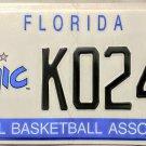 2010 Florida Orlando Magic License Plate (K024V)