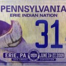 2009 Erie, Pennsylvania ALPCA 55th Convention License Plate (314)