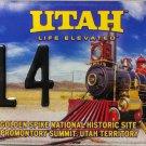 2008 Salt Lake City, Utah ALPCA 54th Convention License Plate (314)