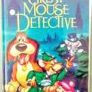 VHS: Walt Disney Classic THE GREAT MOUSE DETECTIVE (Black Diamond Edition) Rare!