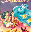 VHS: Walt Disney Classic ALADDIN (Black Diamond Edition) Rare!