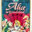 VHS: Walt Disney ALICE IN WONDERLAND (Masterpiece Collection) Rare!