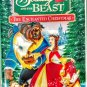 VHS: Walt Disney Home Video BEAUTY AND THE BEAST (The Enchanted Christmas)