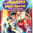 VHS: Walt Disney Home Video ALADDIN AND THE KING OF THIEVES (Starring Robin Williams)