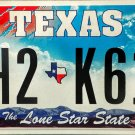 "Texas ""Big Star"" License Plate (CH2 K613)"