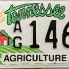 2005 Tennessee Agriculture License Plate (AG 1464)