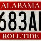 2016 Alabama: University of Alabama License Plate (683APA)