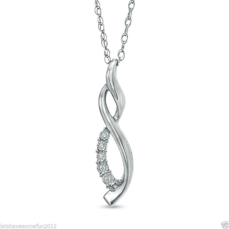 zales masquerade infinity pendant necklace