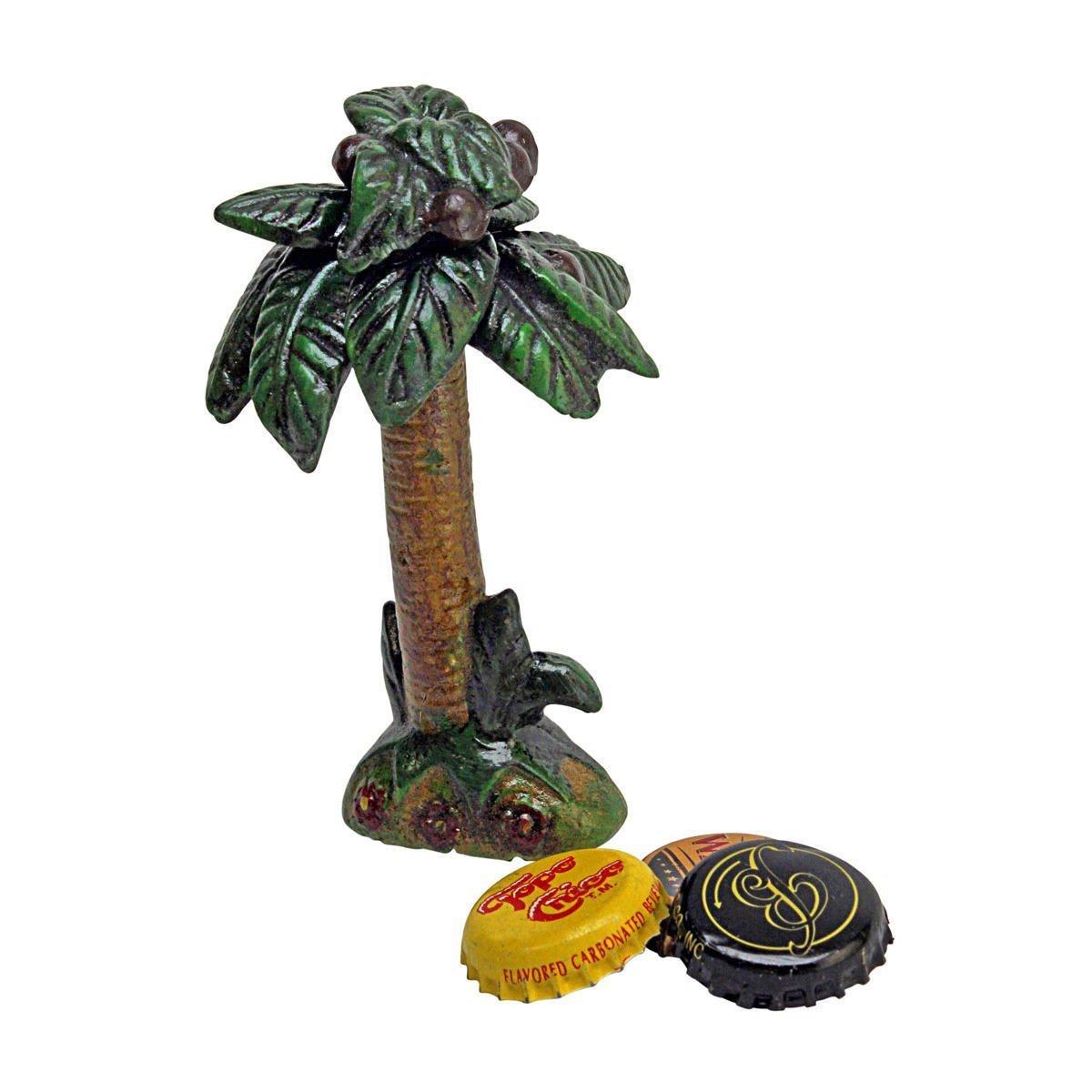 Tropical Coconut Tree Cast Iron Bottle Opener