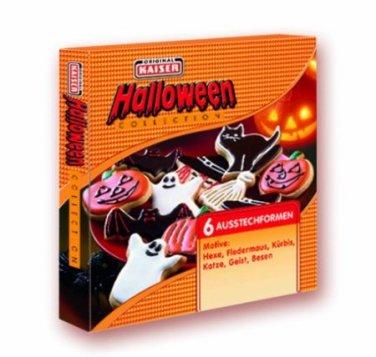 Kaiser Bakeware Halloween 6- Piece Cookie Cutter Set