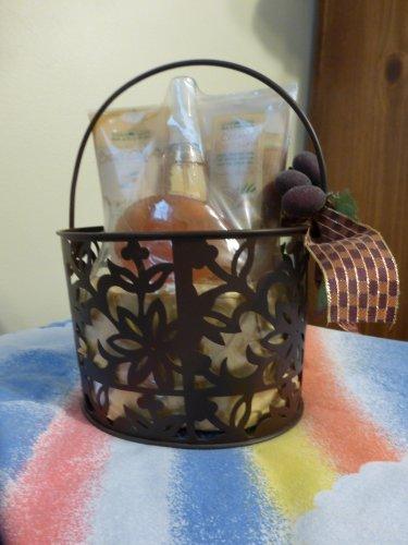 Bath & Body Works Metal Basket Spa Gift Set