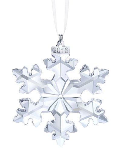 Swarovski Crystal 2016 2016 Annual Snowflake Ornament