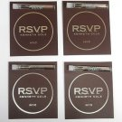 RSVP By Kenneth Cole EDT 1.5ml .05oz Sample x4