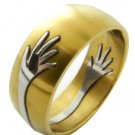 316L Stainless Steel Tribal Handmade Men's Ring