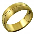 316L Stainless Steel Men's Surgical Ring Band