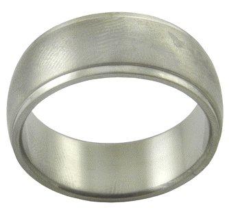 Stainless Steel Handmade Men's Ring