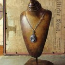 BEAUTIFUL VINTAGE STYLE WOODEN JEWELRY HOLDER STAND,15''TALL.