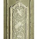 FABULOUS ORNATE WALL PANEL/PEDIMENT,16'' X 1'' X 71''TALL.