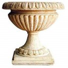 FANTASTIC GARDEN RIBBED URN/PLANTER,25''TALL.