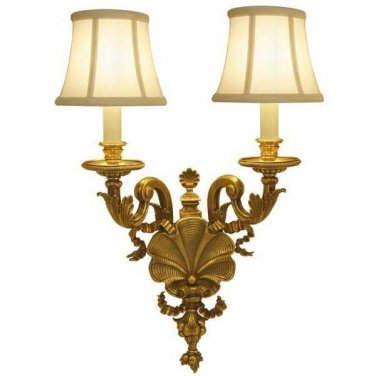 GORGEOUS VINTAGE STYLE SHELL BURST SCONCE